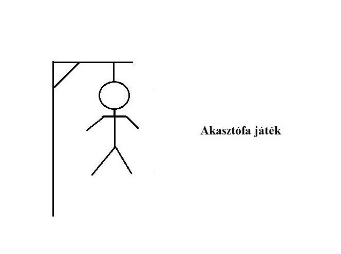 Akasztófa játék kép