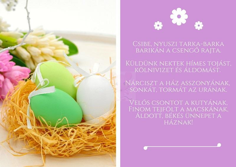 5. Húsvéti köszöntő