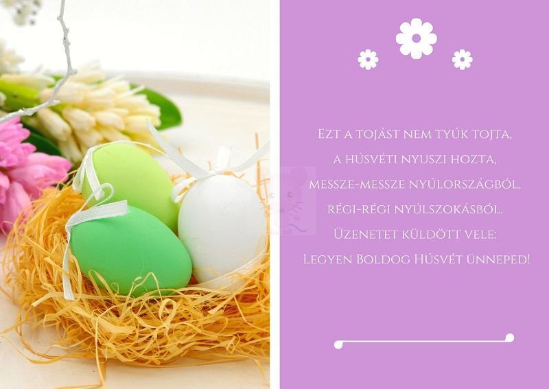 9. Húsvéti köszöntő