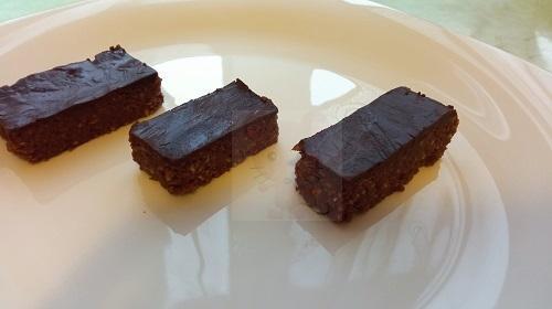 Sportszelet sütés nélkül recept