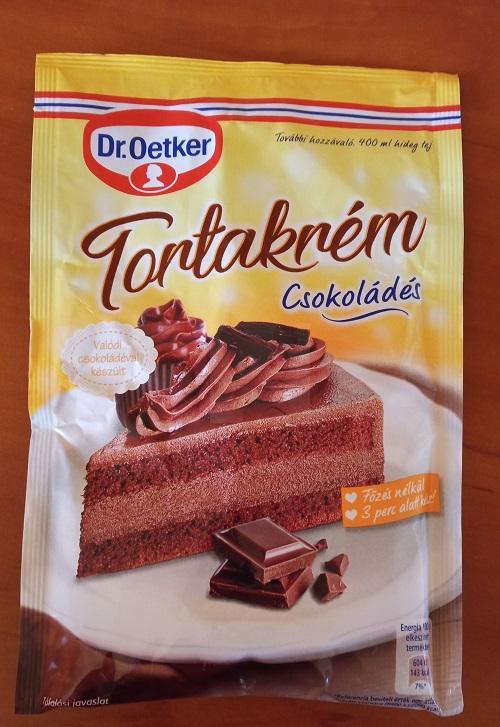 Csokitorta krém hozzávaló